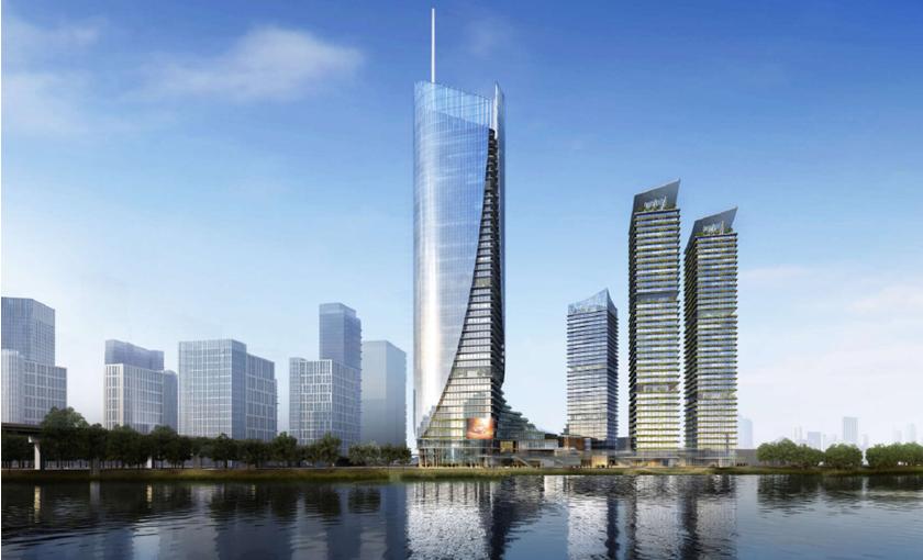 2019中标远洋集团北京通州远洋新光中心幕墙工程项目